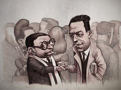 Releer a J.P. Sartre y A. Camus en días de desencanto.