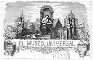 Cabecera del semanario El Museo Universal