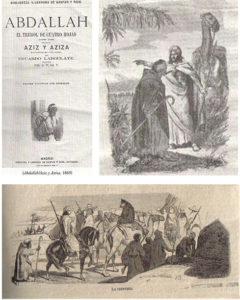 Ilustraciones pertenecientes a Abdallah(1869)