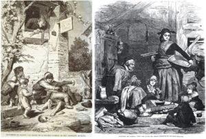 La salida de la escuela (1865) y El cuento del abuelo (1867)